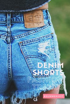 #denimshorts #summer2017 #fashiontrends