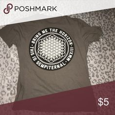 Hot topic Bring Me the Horizon Tee Used Hot Topic Bring Me the Horizon Tee Hot Topic Tops Tees - Short Sleeve