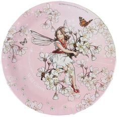 Flower Fairies Party Plates