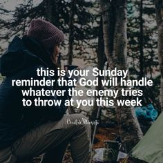 Quotes for women of faith, women warriors of God, inspirational quotes for Christian women in business, quotes for mompreneurs, Sunday quotes, this is your Sunday reminder that God will handle whatever the enemy tries to throw at you this week | Creative Momista