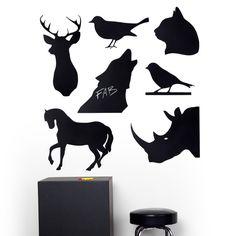 Assorted shape Magnet Blackboard