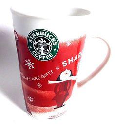 2010 Starbucks Christmas Coffee Mug