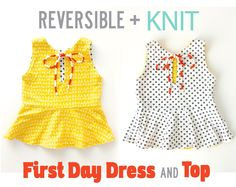Reversible + KNIT, First Day Dress | MADE