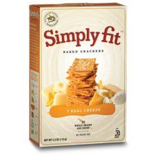 Simply Fit™ Crackers —7 Real Cheese  Size: 6 oz Product No. 9236