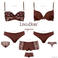 Meet Aiyana of the LingaDore - Autumn | Winter 2014/'15 collection. Available in stores and on http://www.lingadore.com/search?all=aiyana.