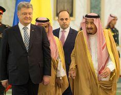 وصل الرئيس الأوكراني الرياض أمس في زيارة لم يعلن عن مدتها