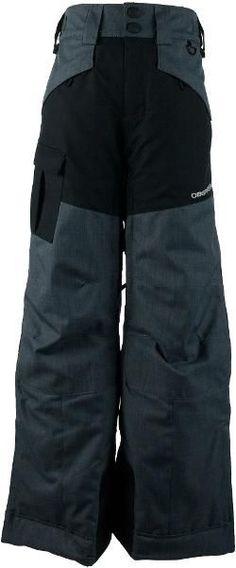 Obermeyer Boy's Porter Insulated Snow Pants Graphite XS