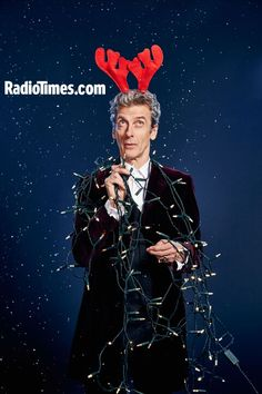 Peter Capaldi turns on the Christmas lights in exclusive Doctor Who shoot Doctor Who Christmas, Christmas Love, Christmas Lights, Merry Christmas, Xmas, Doctor Who 12, 12th Doctor, Peter Capaldi, Stuart Manning