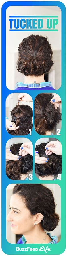 Tucked Up | 26 Incredible Hairstyles You Can Learn In 10 Steps Or Less