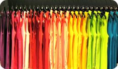 Colour blocking vs merchandising by size…