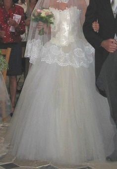 Robe de mariée Max Chaoul 36/38 d'occasion - Yvelines