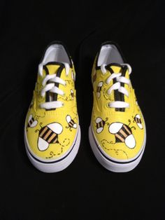 Custom Designed Hand Painted Shoes by TheSoleArtist on Etsy, $60.00