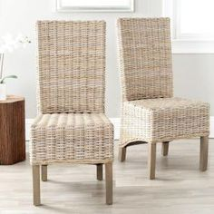 World Market Wicker Chairs For The Head Of The Dining