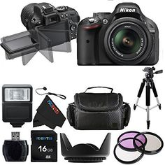 Nikon D5200 24.1 MP Camera W/ 18-55mm f/3.5-5.6 AF-S DX VR Lens + Pixi-Basic Accessory Bundle  http://www.lookatcamera.com/nikon-d5200-24-1-mp-camera-w-18-55mm-f3-5-5-6-af-s-dx-vr-lens-pixi-basic-accessory-bundle/