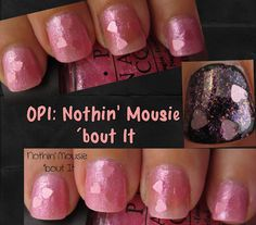 Minnie Mouse nail polish by OPI.