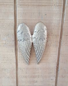 Cast Iron Angel Wings, Angel Wings, Angel Decor, Religious Decor, Angel, Wall Decor, Shabby Chic Wall Decor, Heavenly, Home Decor, Nursery by BarnMade4U on Etsy