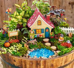 Fairy Garden Design Ideas For Summer 53 Gardens are don't just for lawns an. Fairy Garden Design I Indoor Fairy Gardens, Mini Fairy Garden, Fairy Garden Houses, Gnome Garden, Miniature Fairy Gardens, Garden Sheds, Fairies Garden, Autumn Fairy, Autumn Garden
