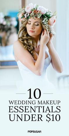 Yes, you can find all your wedding day beauty supplies at the drugstore! Here's proof.