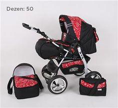 Kunert VIP kolica za bebe, set 2u1 dezen 50