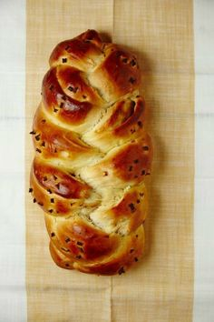 Bake this Onion-Filled Honey Challah for a sweet addition to your Rosh Hashanah or Sukkot meal.
