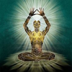 Turn yourself into a receiver of light, vibration, and energy.