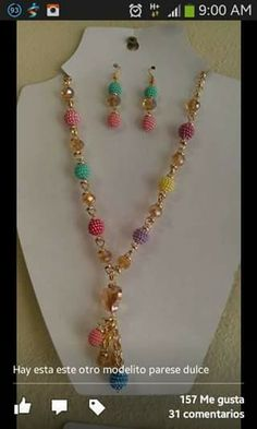 O Wire Jewelry, Jewelery, Beaded Necklace, Jewelry Making, Bracelets, Necklaces, Veronica, Accessories, Beading