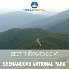 Shenandoah National Park… one of the most breathtaking natural scenes in all of America. Littered with rivers & waterfalls, magnificent bodies of water... certainly a unique experience for those who love camping, hiking, RVing or anything outdoors! #NationalParks #Camping #Hiking #Travel #RVing