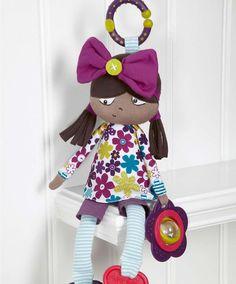 Mamas & Papas: Soft Toy - Bonnie Rag Doll Pink image