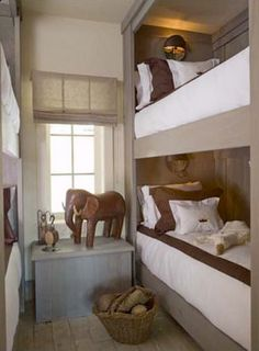 vacation home bunk rooms