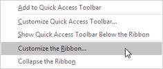 The tabs on the ribbon are: File, Home, Insert, Page layout, Formulas, Data, Review and View. Excel selects the ribbon's Home tab w...