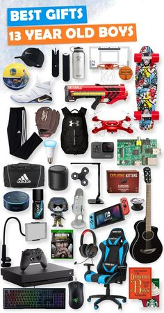 This list is lit! Tons of great gift ideas for 13 year old boys.