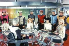 """Captain Scarlet and the Mysterons,"" 1967 Someone should still do a live action version of this! Christopher Eccleston, James Bond, Scarlet, Doctor Who, Joe 90, Thunderbirds Are Go, Fritz Lang, Sci Fi Tv, Kids Tv"