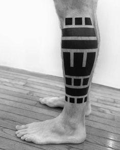 Black work from 2 spirit tattoo in SF.