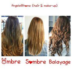Ombre, Sombre en Balayage hair