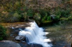 NC waterfalls Dupont State Park