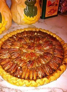 My homemade pecan pie