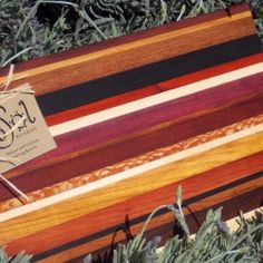 Sol Boards- Custom Handmade Wood Cutting Boards $40 - $50, two sizes available.  (No Stains- all natural colors of wood)