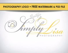 Photography Camera Logo Free Photoshop Source by SigntificDesigns Photo Signature, Name Signature, Watermark Design, Logo Design, Camera Logo, Photographer Logo, Calligraphy Logo, Free Photoshop, Photography Camera
