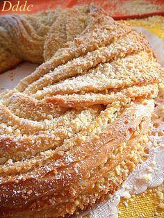 Estonian Kringle e buona Epifania! Bakery Recipes, Cooking Recipes, Estonian Food, Torte Cake, Plum Cake, Bread And Pastries, Sweet Cakes, Savoury Cake, Sweet Bread
