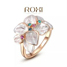 """ROXI"" Enamel Statement Ring"