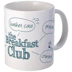 Breakfast Club Doodle Mug on CafePress.com