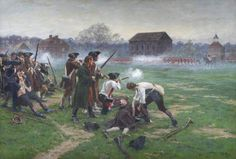 Battle of Lexington, 19 April 1775