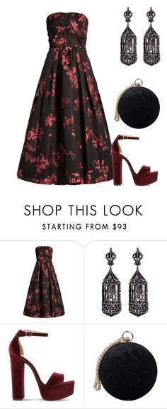 """Underneath"" by didiiidia on Polyvore featuring Oscar de la Renta, Amrapali, Steve Madden and Carvela"