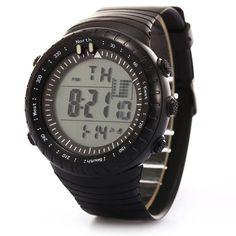Fashion brand Digital Watch Men LED Date Sport Military Rubber Waterproof Quartz Watch Alarm relogio masculino Wristwatche#LSIN