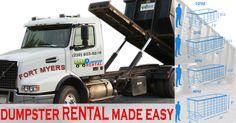 Affordable Dumpster Rental Services Fort Myers, FL at Easy Dumpster Rental Dumpster RentalFort Myers, FL The Best & Cheapest Dumpster Rental Services Click To Call 1-888-792-7833Click For Email Quote Why Are We Number ONE Dumpster Rental Services? It's no secret why Easy Dumpster Rental has remained at the frontier of the waste removal industry. You may have heard ... https://easydumpsterrental.com/florida/dumpster-rental-fort-myers-fl/