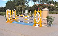 Used Horse Show Jumps: WEF Week 1-1 by Classy Courses Inc. Horse Show Jumps, via Flickr