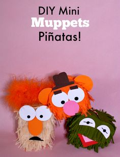 DIY Mini Muppets Piñatas! #MuppetsMostWanted — The Queen of Swag!