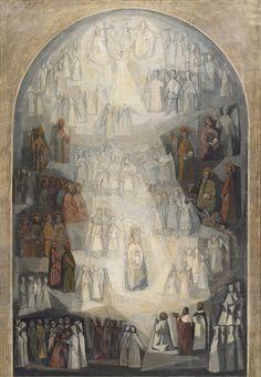 Boceto del Altar Mayor - Alfonso Ramil (1955-57) Parroquia de Nuestra Señora de las Mercedes (Las Arenas)