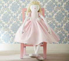 Designer Doll Elise #PotteryBarnKids.