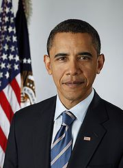 A nice photo  of the US-President, before the flag  http://www.domainregistry.de/us-domain.html